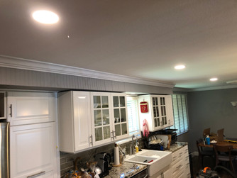LED CAN LIGHTING IN KITCHEN AFTER INSTUL