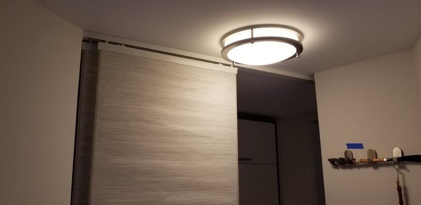 New Modern LED light fixtures