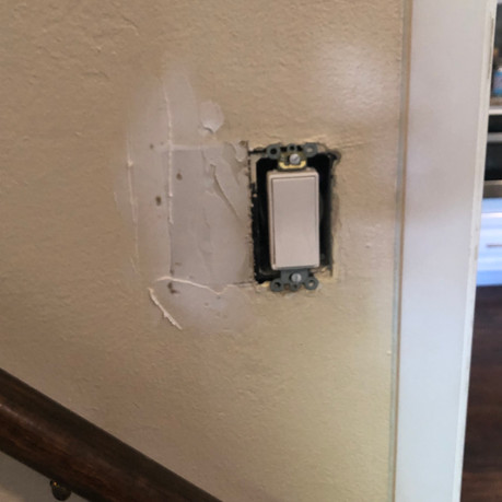MOVED ELECTRICAL OUTLET