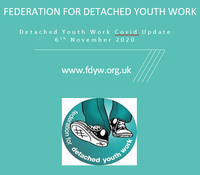 Detached Youth Work Covid Guidance - 6 November 2020