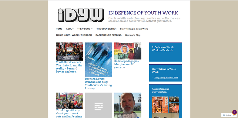 In Defence of Youth Work