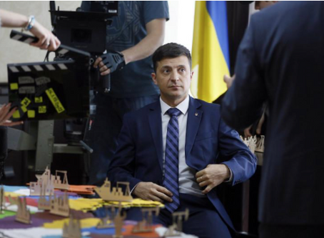 All the World's a Stage: Ukraine's new President - elect is a paradigm of neopopulism – and that's a