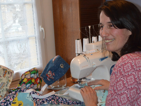 Notre petite entreprise de fabrication de vêtement professionnel passe sur France Bleu
