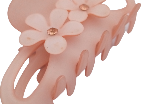 Hair clip / claw - Pink