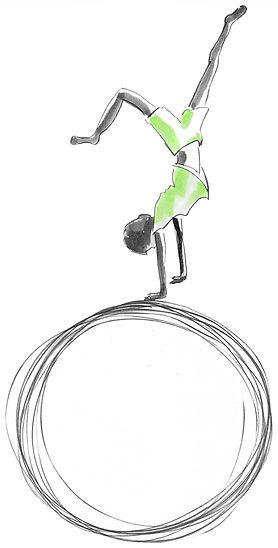 GDS Logo vert clair sur boule REMPLI BLA