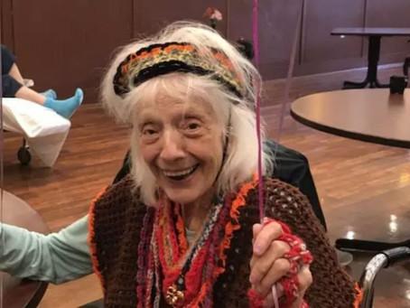 Mulher de 102 anos vence Covid-19 duas vezes depois de sofrer de câncer e gripe