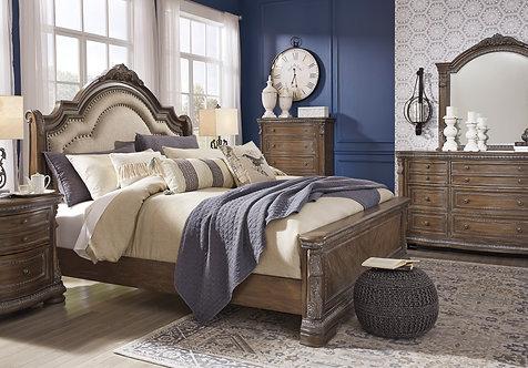 Lavender Queen Bed