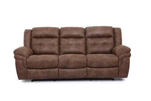 Jeff Manual Dual Reclining Sofa