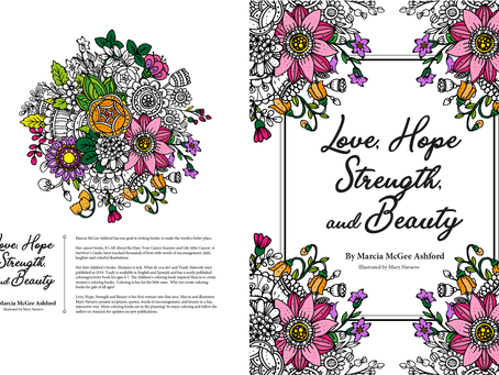 Love, Hope, Strength and Beauty Coloring Book  Amazon.com