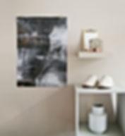 "Postern ""Canyon"" från Graffirmations kollektion ARCTIC"