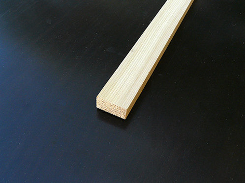 Clear White Cedar Lattice Strip