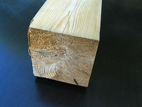 Knotty White Cedar 6x6