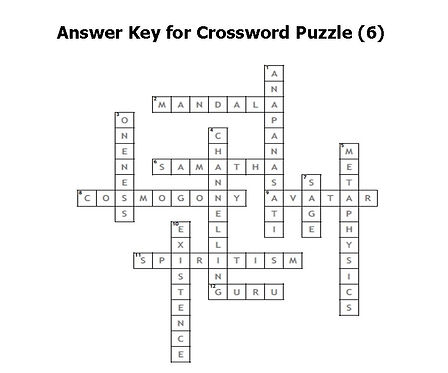 Answer Key for Crossword puzzle 6.jpg