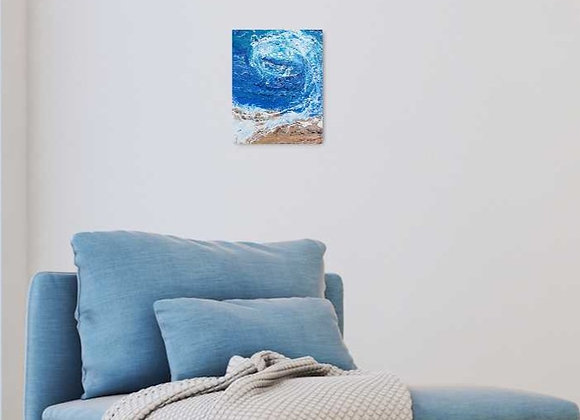 Small Ocean Wave Painting