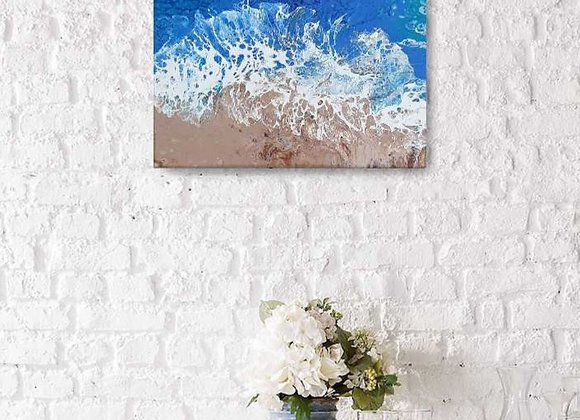 Beach Canvas Painting