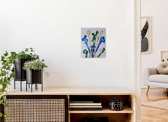 String Pull Flower Painting