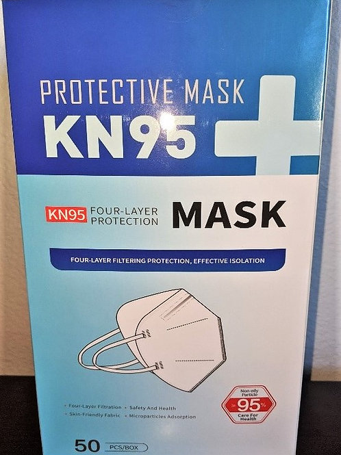 THREE BOXES OF KN95 MASKS