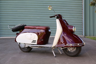 1960 Heinkel Tourist Scooter