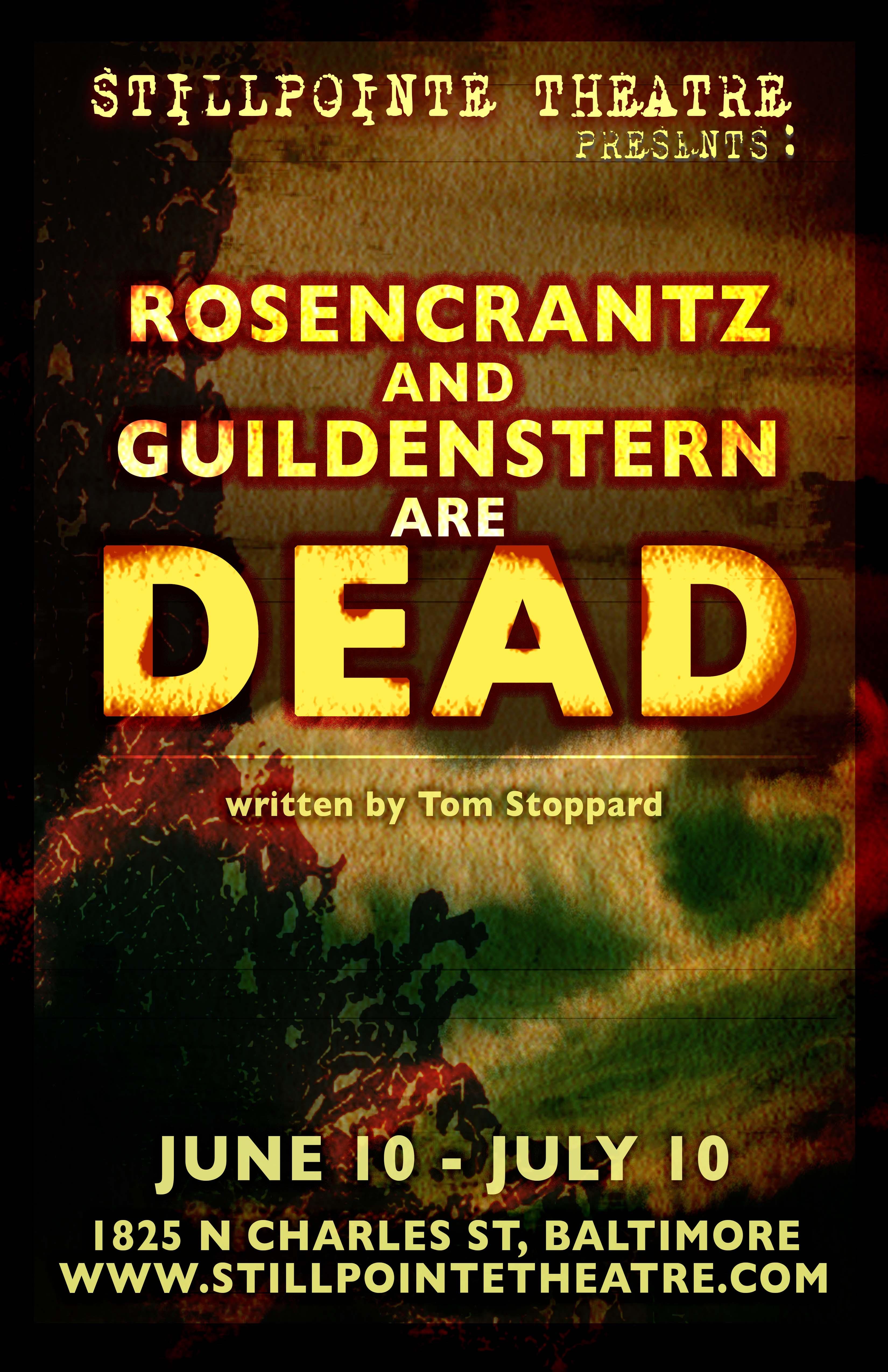 ROSENCRANTZ & GUILDENSTERN ARE DEA