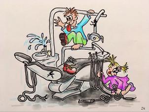 (Ne)vychované dítě v ordinaci zubního lékaře