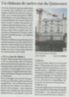 Article de presse 19 mars courrier de l'