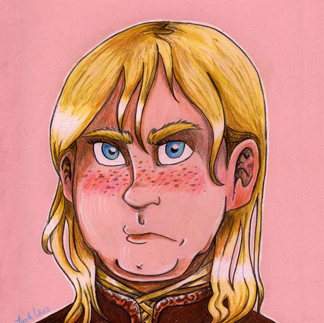 portrait Brienne de Tarth