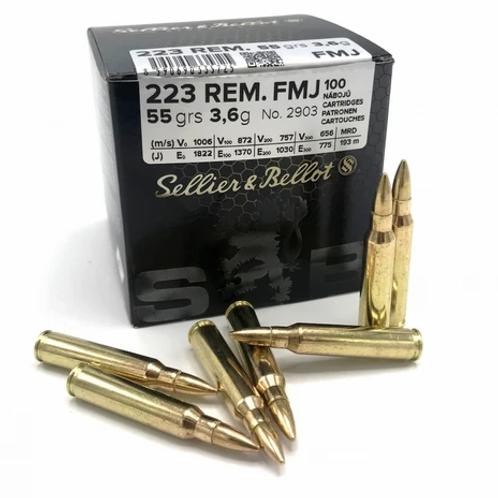 Sellier & Bellot .223 Rem 100er