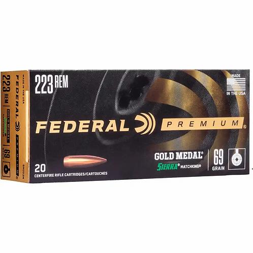 Federal .223 Rem 69grs