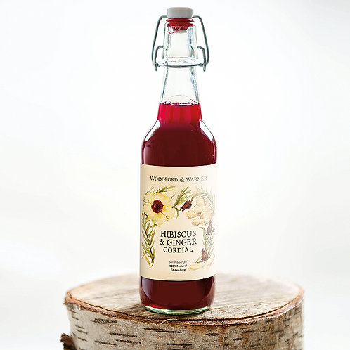 Agave Sorrel & Ginger Cordial, 500ml x 1