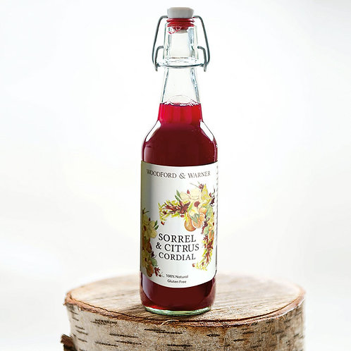 Sorrel & Citrus Cordial, 500ml x 1