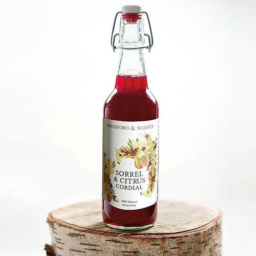 Sorrel & Citrus Cordial, Case of 6 bottles