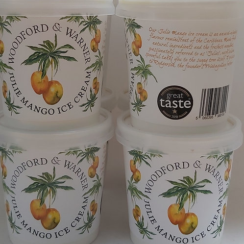 Julie Mango Ice Cream, 125ml (Pack of 12)