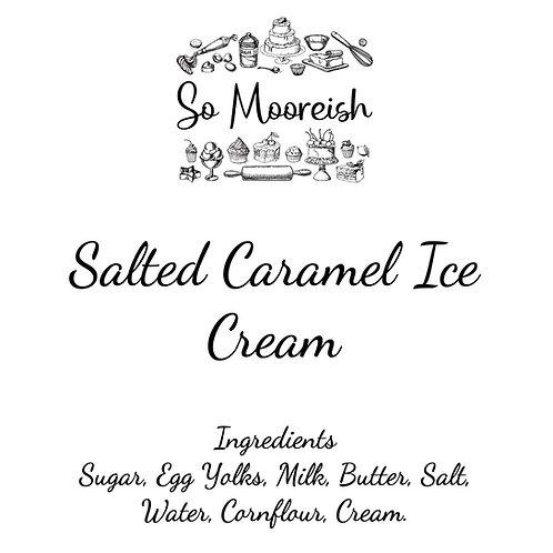 Salted Caramel Ice Cream, 125ml (Pack of 12)