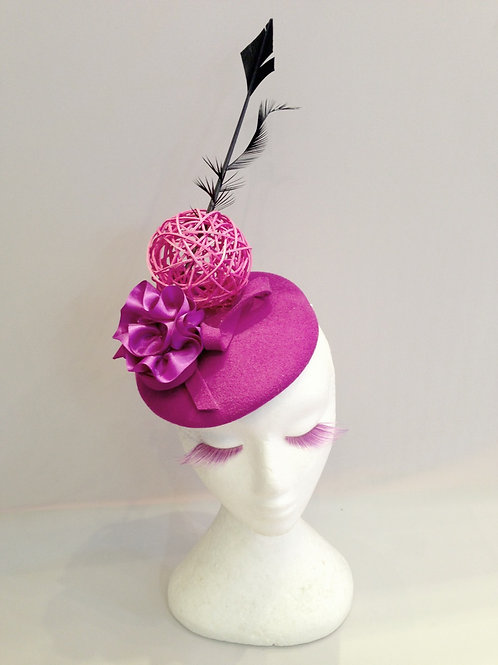 Cocktail Hat, Felt Fascinator