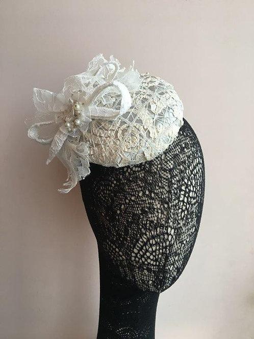 Bride Hat, Lace Wedding Hat, Wedding Fascinator