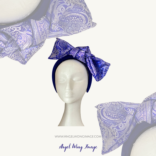 Knot headband crown