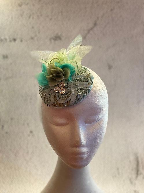 Fascinator Hat, sinamay fascinator, cocktail hat