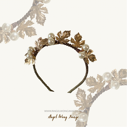 Gold Crown with gold embellishment,crown fascinate ,sierra headband, wedding lux