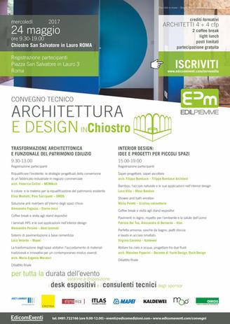 architettura e design in Chiostro 240517