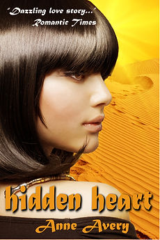 Hidden Heart - a futuristic romance by Anne Avery
