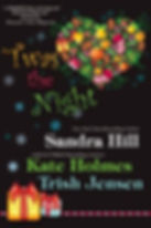'Twas the Night, a Christmas contemporary romance by Sandra Hill, Kate Holmes (Anne Avery), and Trish Jensen