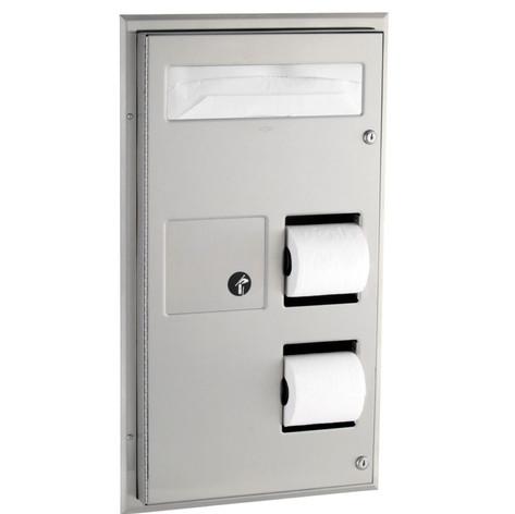 B357 Combo Toilet Paper Unit