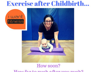 Exercise after Childbirth - How soon?