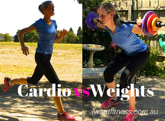 Cardio v Weights. Which shifts fat faster?