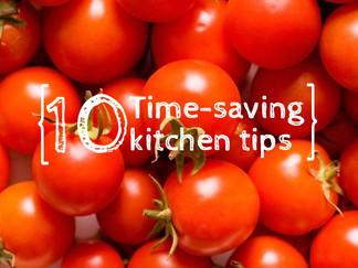 10 Time-Saving Kitchen Tips