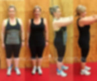 Katie's I want fitness bootcamp fitness results