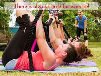 Why you can't find time to exercise