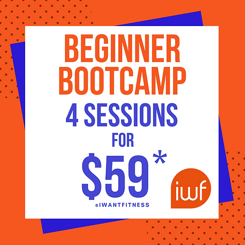 Beginner Bootcamp - 4 Sessions