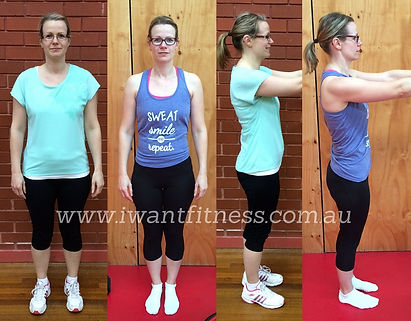 I Want Fitness women's bootcamp results
