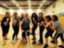 Strength training at I want Fitness group fitness